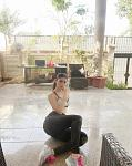 Mouni Roy looks ***y    Mouni's off-duty style in these viral pictures looks on point. She teams up her black separates with a pair of black boots...