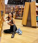 Mouni Roy at a book store    Actor Mouni Roy is currently in Dubai at her sister's house where she is trying to be productive under self-quarantine....
