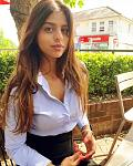 Suhana's hot formal look    Donning a high-waist slim-fitted black skirt with a blue formal shirt, Suhana Khan steals away the show with her office...