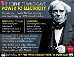 Michael Faraday FRS (/ˈfærədeɪ, -di/; 22 September 1791 – 25 August 1867) was an English scientist who contributed to the study of electromagnetism...