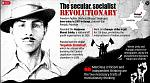 Bhagat Singh (Punjabi pronunciation: [pə̀ɡət̪ sɪ́ŋɡ] (About this soundlisten) 1907 – 23 March 1931) was an Indian socialist revolutionary whose two...