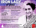 Indira Priyadarshini Gandhi (Hindi: [ˈɪndɪɾa ˈɡaːndʱi] (About this soundlisten); née Nehru; 19 November 1917 – 31 October 1984) was an Indian...