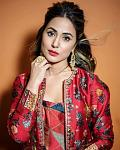 Hina Khan Looks Jaw-dropping Gorgeous in red kurti, Pants And Long Shrug    Actor Hina Khan, who is currently seen as 'Toofani senior' in the Salman...