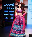 Janhvi Kapoor walks the ramp for Nachiket Barve    This is again something which is quite simple from Janhvi's fashion standard. The actor walked the...
