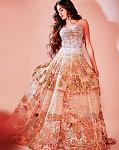 Janhvi Kapoor wearing an Abu Jani Sandeep Khosla lehenga    Her next and probably one of the most loved appearances ever is in this Abu Jani Sandeep...