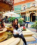 Mouni Roy Poses Near The Fountain in Throwback Picture    Actor Mouni Roy has taken to Instagram to share her throwback pictures in all blacktop and...