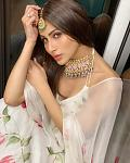 Mouni Roy looks gorgeous in a floral ivory lehenga    Actor Mouni Roy looks like a diva in a floral ivory lehenga. The actor left her fans spellbound...