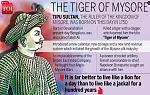 Tipu Sultan (born Sultan Fateh Ali Sahab Tipu, 20 November 1750 – 4 May 1799), also known as Tipu Sahab or the Tiger of Mysore, was the ruler of the...