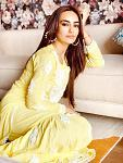 Surbhi Jyoti Looks Mesmerising in Yellow Chikangari Ethnic Wear    Surbhi Jyoti has left her fans lovestruck with her latest pictures in chikangari...
