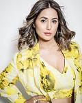 Hina Khan Looking Fabulous in Yellow Printed Cotton Pant Suit For Bigg Boss 14    Actor Hina Khan leaves no stone unturned when it comes to nailing...