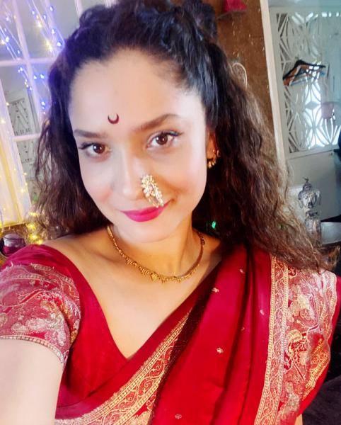 Ankita Lokhande Performs Mahalakshmi Puja at Home With Her Mother